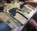 Holzschnitt Druckwerkstatt HAUS 10