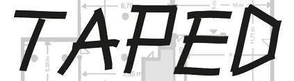"""einladungskarte zur DebütantInnen Ausstellung """"Taped"""" im HAUS 10"""