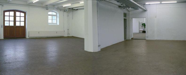 Kulturwerkstatt HAUS 10 – Eingangsbereich und Raum 2